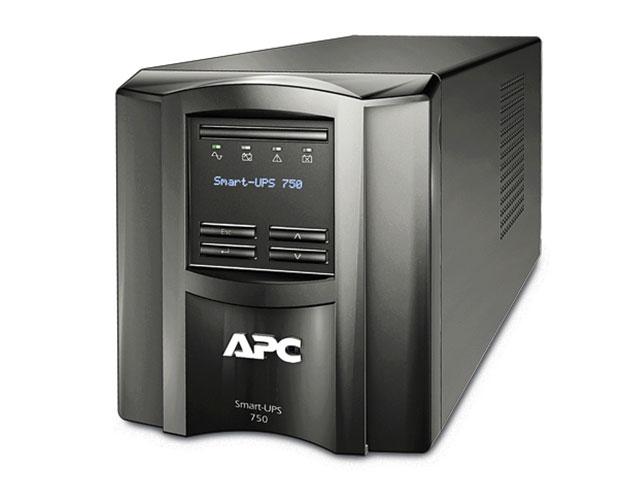 Εικόνα Smart-UPS APC SMT750I - 750VA - LCD (με καινούργιες μπαταρίες)