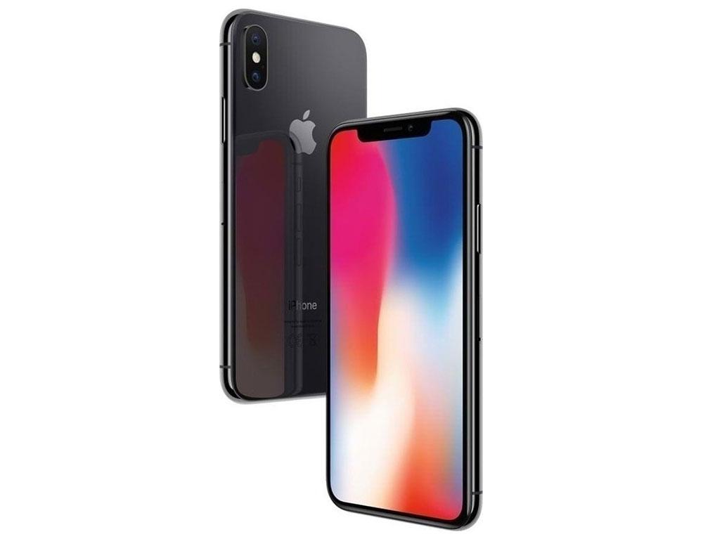 """Εικόνα Smartphone Apple iPhone X - Οθόνη HDR Super Retina 5.8"""" - Εξαπύρηνος επεξεργαστής - 3GB RAM / 256GB ROM - Black - 12+12MP Dual Camera - Περιλαμβάνει μόνο το καλώδιο φόρτισης"""