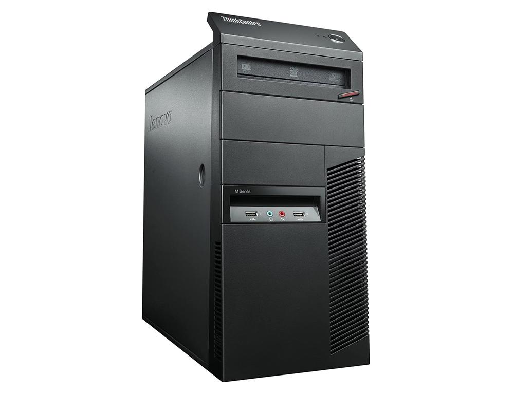 Εικόνα Lenovo ThinkCentre M78 Tower - AMD A4 5300B - 4GB RAM - 500GB HDD - DVD - Windows 10 Pro
