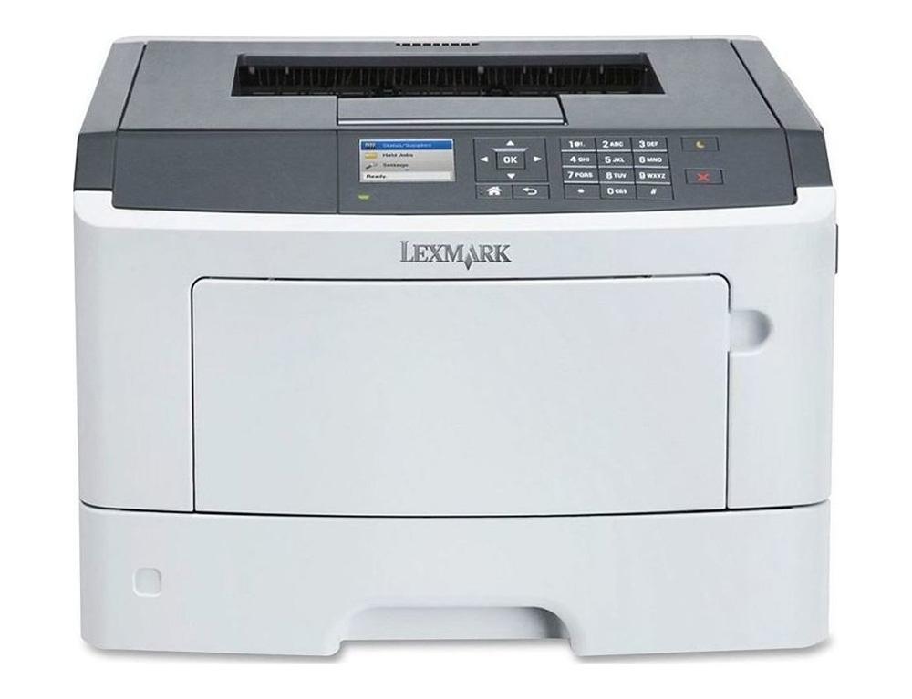 Εικόνα Μονόχρωμος Laser Εκτυπωτής Lexmark MS510dn - Με καινούργιο Toner 5000 Σελίδων - A4 - Ποιότητα εκτύπωσης 1200x1200 DPI - Ταχύτητα εκτύπωσης 42 ppm - USB, Ethernet