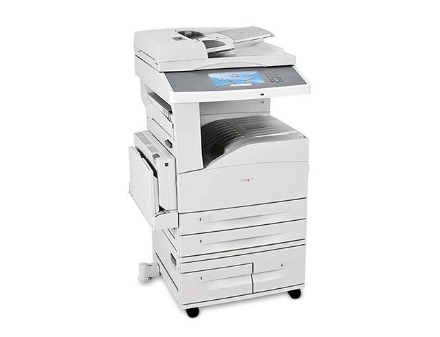 Εικόνα Πολυμηχάνημα Lexmark X860de Α3 - Ποιότητα εκτύπωσης 1200x1200 dpi - Ταχύτητα εκτύπωσης 35ppm - Ενσωματωμένος δίσκος 160GB HDD