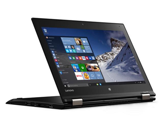 """Εικόνα Lenovo Yoga 260 - Οθόνη αφής 12.5"""" - Intel Core i3 6ης γενιάς 6100 - 4GB RAM - 120GB SSD - Windows 10 Pro - Χωρίς πενάκι"""