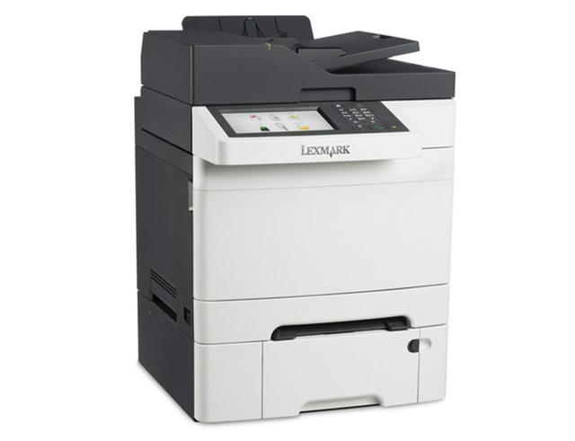 Εικόνα Πολυμηχάνημα Έγχρωμο Lexmark CX510de - A4 - Εκτύπωση, Σάρωση, Αντιγραφή, FAX - 2400x600dpi - 30ppm - Duplex - USB, Ethernet - 1 Extra Paper Tray