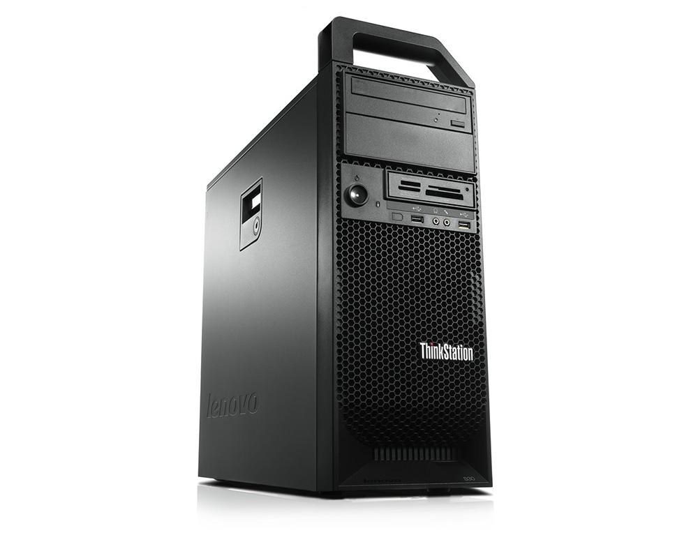 Εικόνα Workstation Lenovo ThinkStation S30 - Intel Xeon E5-1620V2 - 16GB RAM - 240GB SSD - 2x Nvidia NVS 315DMS 1GB - Χωρίς οπτικό δίσκο - Windows 7 Professional