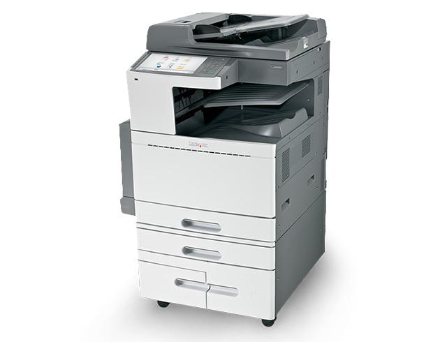 Εικόνα Πολυμηχάνημα Έγχρωμο Lexmark X950DE - Α3 - Για Εκτύπωση, Αντιγραφή, Σάρωση, Fax - Ταχύτητα εκτύπωσης 45 ppm