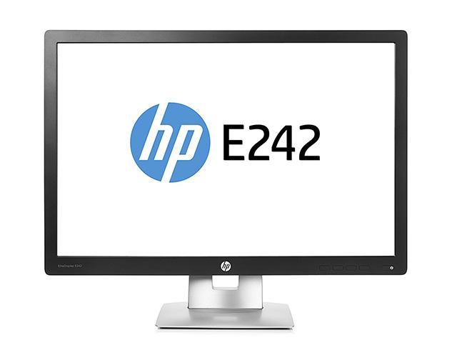 """Εικόνα Monitor 24"""" HP EliteDisplay E242 - Ανάλυση WUXGA - VGA, HDMI, DisplayPort"""