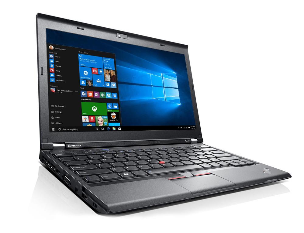 """Εικόνα Lenovo ThinkPad X230i - Οθόνη 12.5"""" - Intel Core i3 3ης γενιάς 3xxx - 8GB RAM - 320GB HDD - Χωρίς οπτικό δίσκο - Webcam - Windows 10 Pro"""