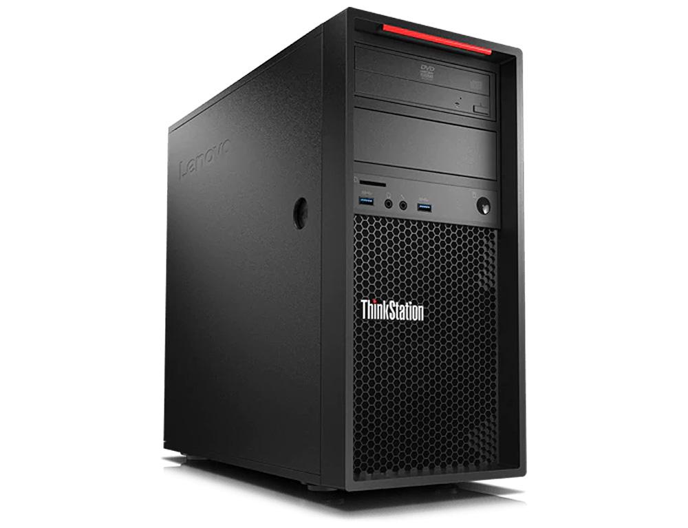 Εικόνα Workstation Lenovo ThinkStation P320 Tower - Intel Core i7 7ης γενιάς 7700K - 32GB RAM - 2TB HDD + 256GB SSD - Windows 10 Pro