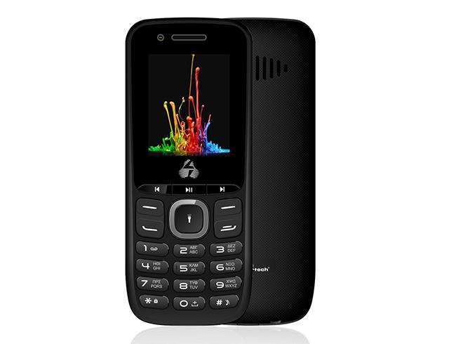 Εικόνα Κινητό απλής χρήσης Powertech Milly Small PTM-14 Dual SIM - Black