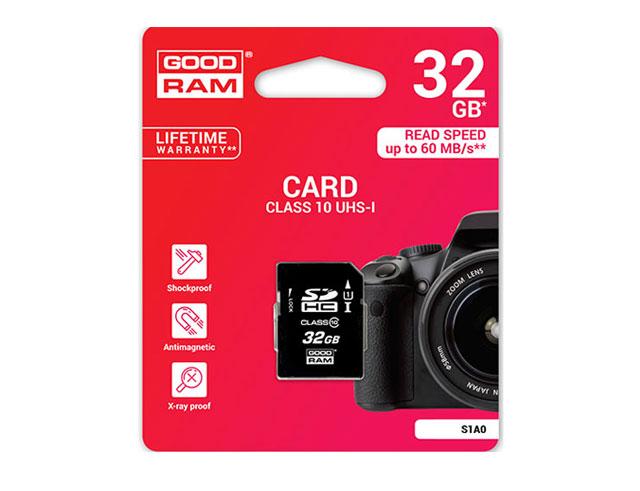 Εικόνα Sd Card Goodram 32gb Cl10 S1a0