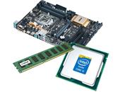 Εικόνα INTEL PROMO KIT2 ΑΠΟΤΕΛΕΙΤΑΙ ΑΠΟ CPU INTEL CORE I5-4690K 3.50GHZ 6MB, ASUS MOTHERBOARD Z97 ΚΑΙ MNHMH 4GB DDR3 1600 MHZ