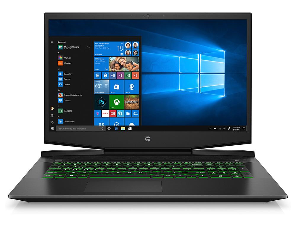 """Εικόνα Gaming Laptop HP Pavilion 17-cd1002nv (189C3EA) - Οθόνη Full HD 17,3"""" - Intel® Core™ i5-10300H - 8GB RAM - 512GB SSD - GeForce® GTX 1650 Ti 4GB - Windows 10 Home"""