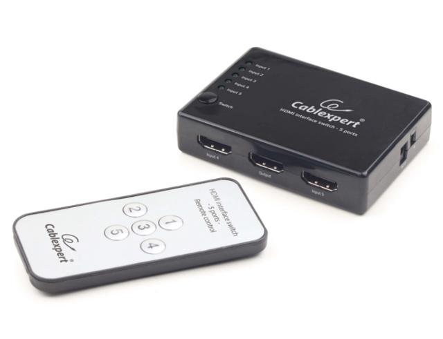 Εικόνα CABLEXPERT HDMI INTERFACE SWITCH DSW-HDMI-53