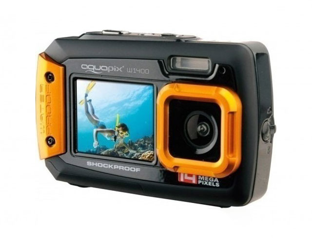 Εικόνα EasyPix Aquapix W1400 Active - Πορτοκαλί