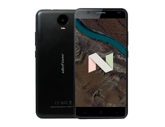 """Εικόνα Smartphone 5.5"""" Ulefone Tiger 3G - Black"""