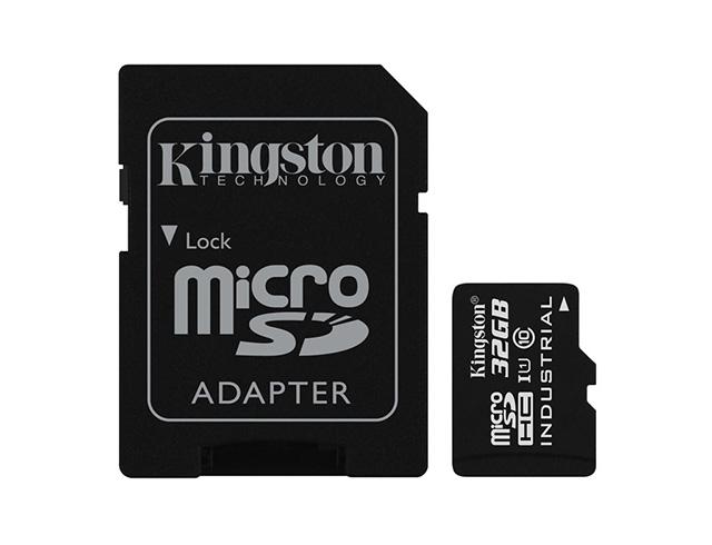 Εικόνα Kingston Industrial Temperature microSDHC 32GB U1 with Adapter