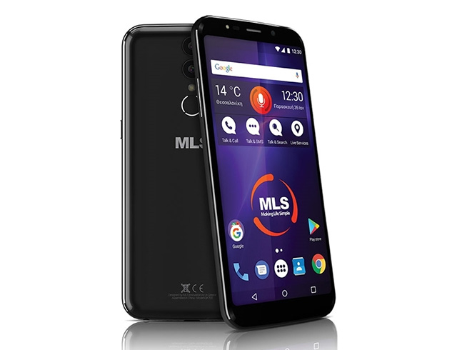 "Εικόνα Smartphone 5.99"" MLS MX PLUS 4G - Black"