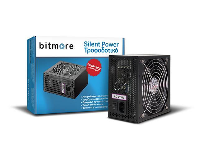 Εικόνα Τροφοδοτικό Bitmore Silent Power - 450W