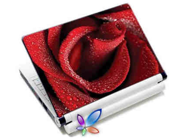 "Εικόνα LAMTECH 9.2""-12.4"" LAPTOP SKIN RED ROSE"