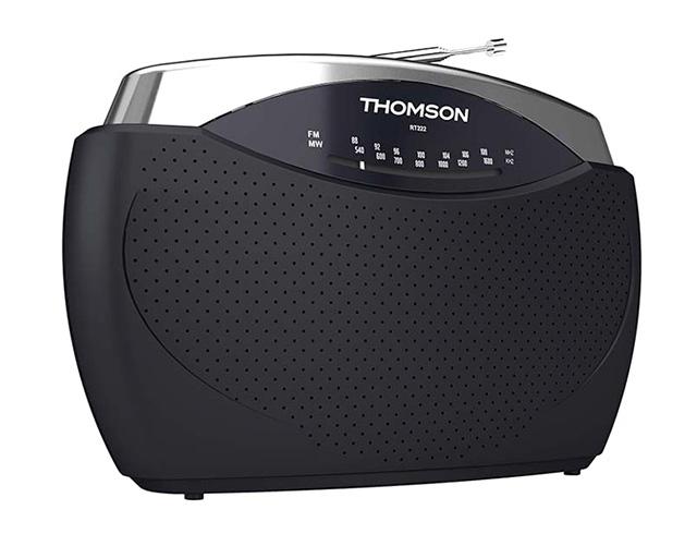 Εικόνα Φορητό ραδιόφωνο Thomson RT222 FM/MW - Black