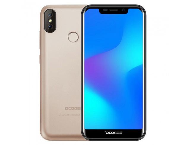 """Εικόνα Smartphone 5.5"""" Doogee X70 Dual SIM - Gold"""