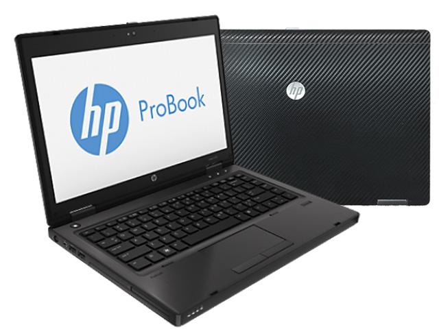 """Εικόνα HP Probook 6475B - Οθόνη 14"""" - AMD A8-4500 - 4GB RAM - 128GB SSD - DVD RW - Windows 7 Professional + Καινούργιο Carbon Skin"""