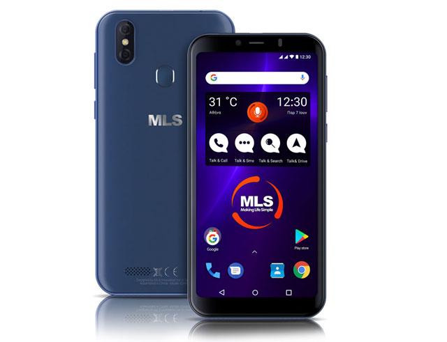 """Εικόνα Smartphone  6.0"""" MLS Join 3G Dual SIM (16GB)-Blue"""