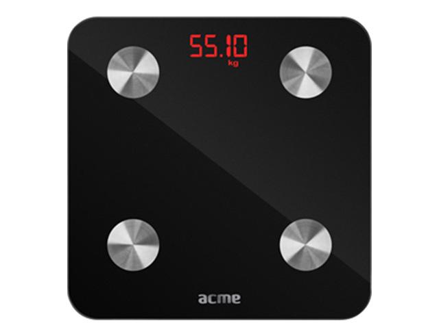 Εικόνα Έξυπνη Ζυγαριά Μπάνιου Acme SC101 - Bluetooth - Black