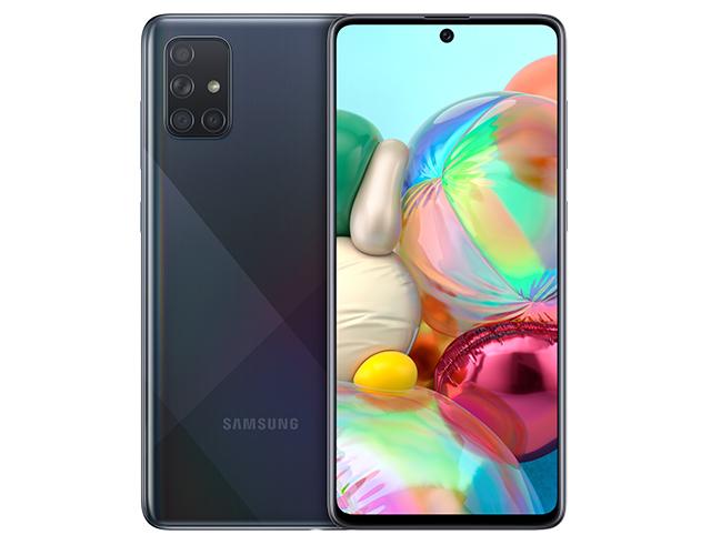 """Εικόνα Smartphone 6.7"""" Samsung Galaxy A71 Dual SIM (128GB) - Black"""