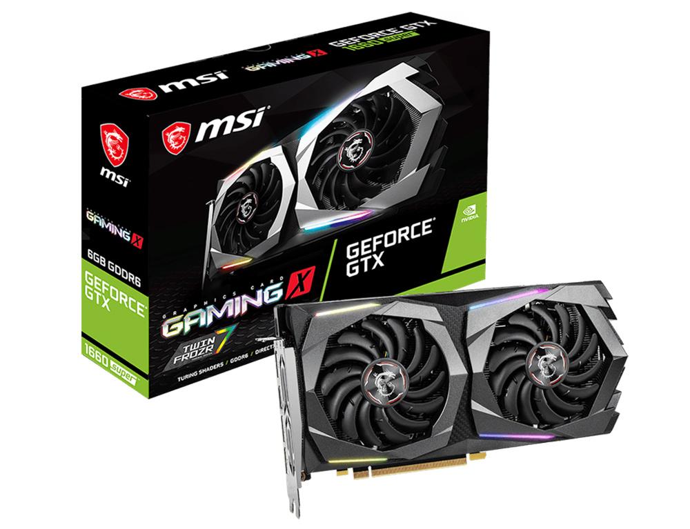 Εικόνα Κάρτα Γραφικών MSI GeForce GTX 1660 Super 6GB Gaming X (V375-282R)