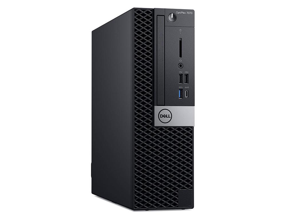 Εικόνα Dell OptiPlex 7070 SFF - Intel Core i5 8ης γενιάς 8500T - 8GB RAM - 240GB SSD - Χωρίς οπτικό δίσκο - Windows 10 Pro