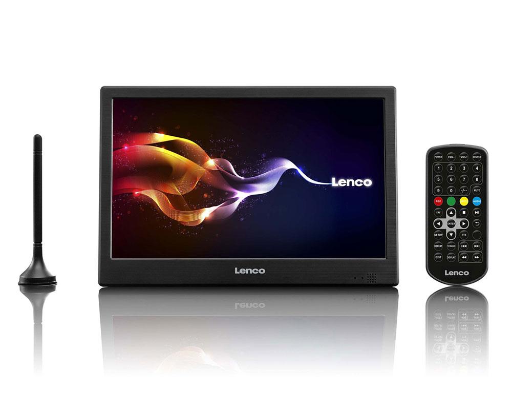 """Εικόνα Τηλεόραση 10"""" Lenco TFT-1038 - Ανάλυση 1024 x 600 - Δέκτες USB, HD DVB-T2 H.265"""