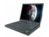 Εικόνα NOTEBOOK LENOVO THINKPAD T60 ME ΕΠΕΞΕΡΓΑΣΤΗ INTEL CORE 2 DUO-T2300, 1GB MNHMH RAM, 40GB ΣΚΛΗΡΟ ΔΙΣΚΟ KΑΙ WINDOWS XP PROFESSIONAL