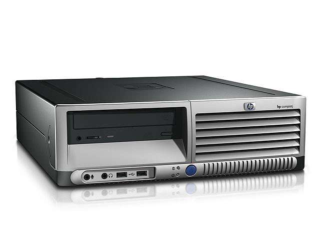 Εικόνα Επώνυμος Υπολογιστής HP DC7100 Μικρού Μεγέθους Με Επεξεργαστή P4 2.8 έως 3.2Ghz και Λειτουργικό WINDOWS XP