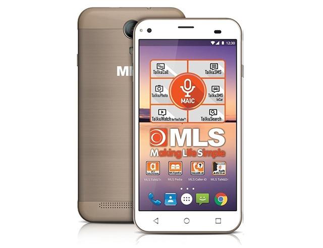 """Εικόνα MLS ALU 3G 5.5"""" Gold Dual Sim"""