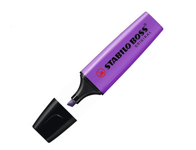 Εικόνα Μαρκαδόρος υπογράμμισης Stabilo Boss - Purple