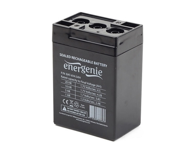 Εικόνα Lead Battery Energenie 6V 4,5Ah