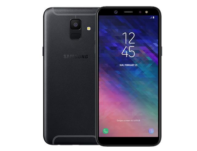 """Εικόνα Smartphone 5.6"""" Samsung Galaxy A6 32GB Dual SIM - Black"""