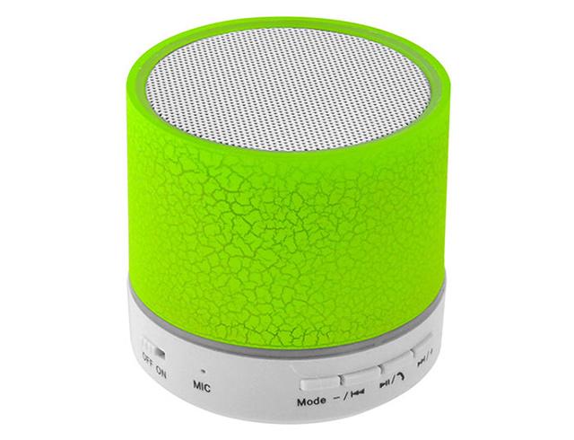 Εικόνα Ηχείο Bluetooth Lamtech LAM020267 LED Light με FM - Green