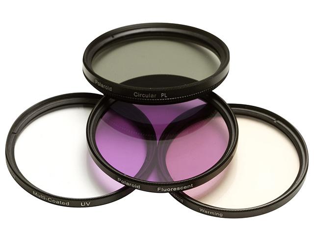 Εικόνα Polaroid Kit UV/CPL/FLD/WARM - Φίλτρα Φωτογραφικής 72mm - 4 τεμάχια