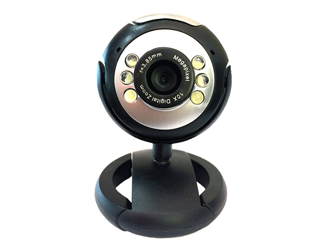 Εικόνα Web Camera Powertech PT-509 1.3MP, Plug & Play, Black