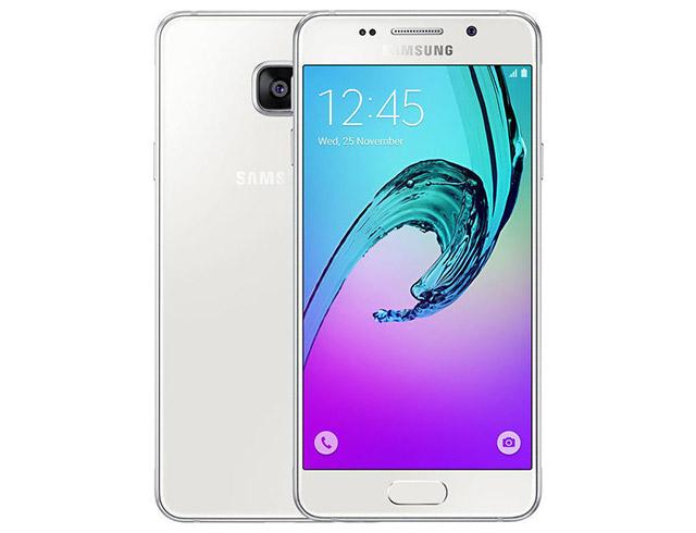 """Εικόνα Smartphone Samsung Galaxy A5 SM-A510F - Οθόνη Full HD 5.2"""" - Οκταπύρηνος επεξεργαστής - 13MP Κάμερα - 2GB RAM / 16GB ROM - White"""