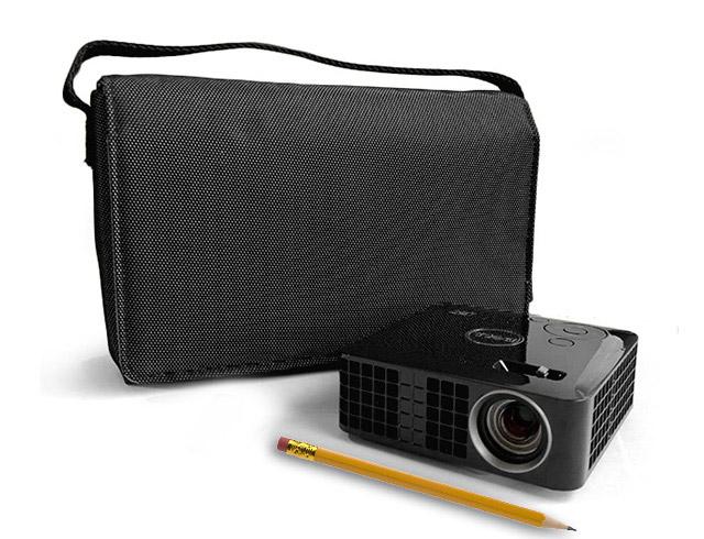Εικόνα Ultra-Mobile Projector Dell M110 - Ανάλυση WXGA - 300 Lumens - Θύρες VGA, HDMI, USB και Micro SD + Dell τσάντα μεταφοράς