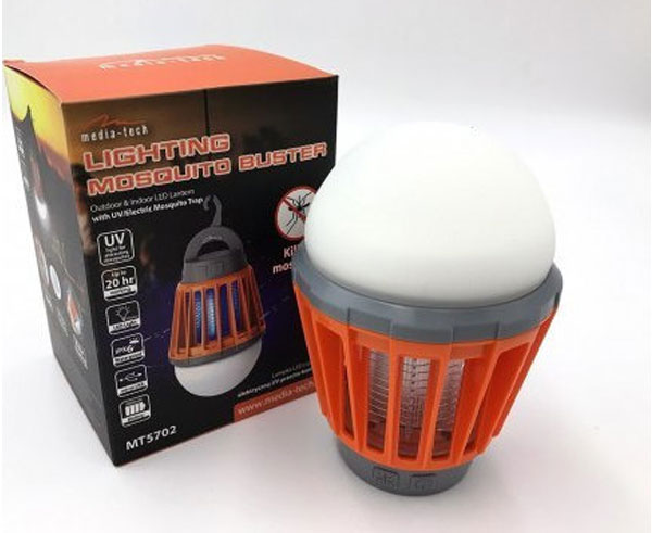 Εικόνα Αντικουνουπικός Λαμπτήρας Led  Media-Tech Mosquito Buster