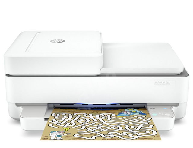 Εικόνα Έγχρωμο Πολυμηχάνημα HP DeskJet Plus Ink Advantage 6475 -A4 - Εκτύπωση, Σάρωση, Αντιγραφή - 4800x1200 - 7ppm - USB 2.0/WiFi