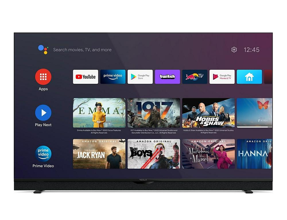 """Εικόνα Smart TV 50"""" Tesla 50S906BUS - Ανάλυση 4K Ultra HD - WiFi - Δέκτες DVB-T2 / DVB-S2 / DVB-C"""