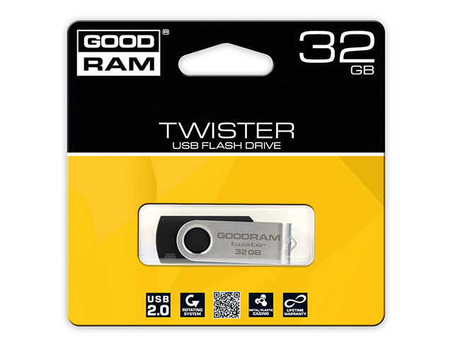 Εικόνα Flash disk Goodram Twister USB 2.0 - 32GB