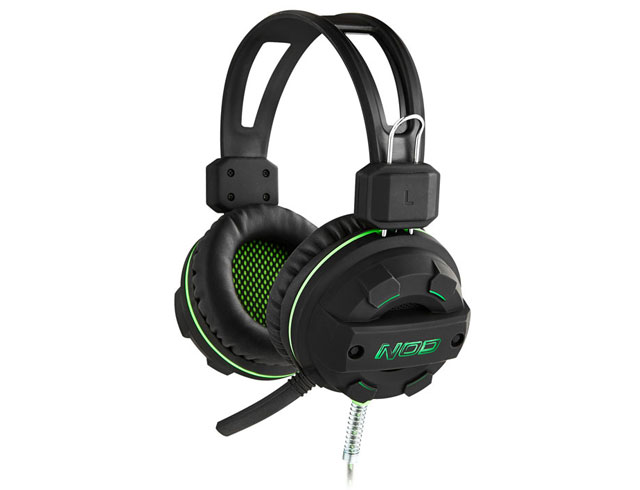 Εικόνα Gaming Headset NOD G-HDS-002 - Black / Green LED