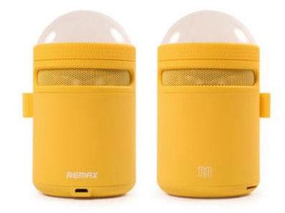 Εικόνα Bluetooth Ηχείο Remax RB-MM με Φως LED - Yellow