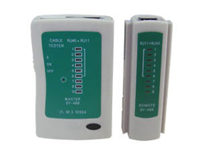 Εικόνα Tester LAN με Τηλεφωνικό + Διπλό Display RG11-RG45 SY-468 SFW